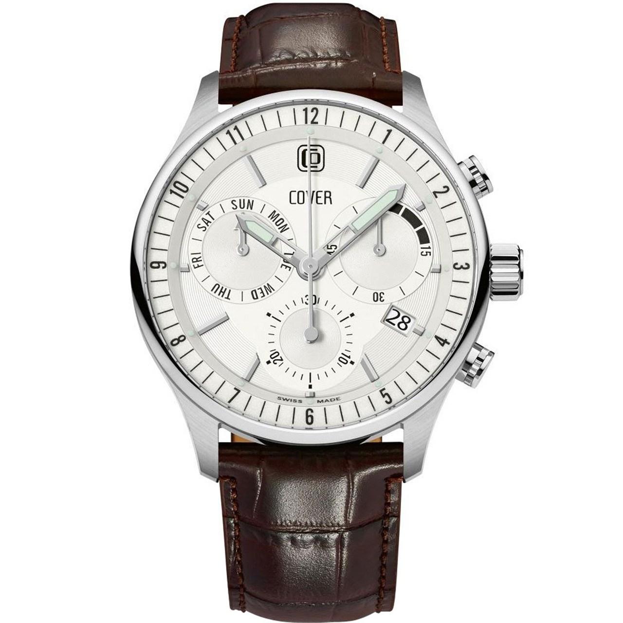 ساعت مچی عقربه ای مردانه کاور مدل Co181.04