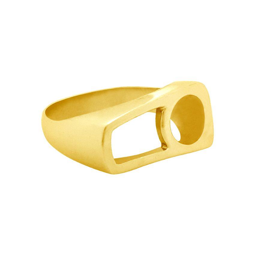انگشترنقره  زنانه کد R207Pgo -  - 5