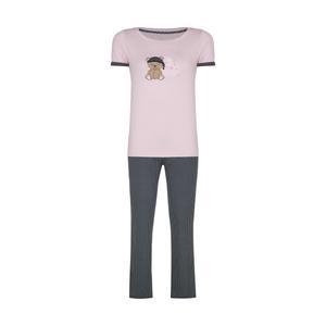 ست تی شرت و شلوار زنانه ناربن مدل 1521321-84