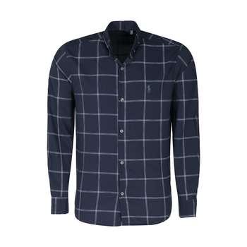 پیراهن آستین بلند مردانه مدل 9909
