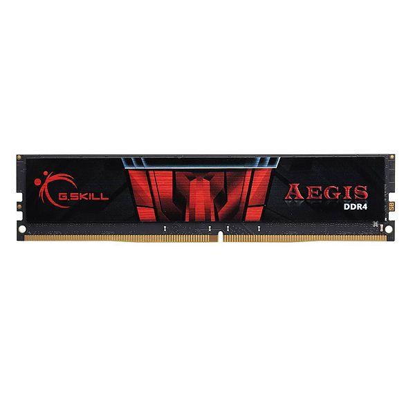 رم دسکتاپ DDR4 تک کاناله 2400 مگاهرتز CL17 جی اسکیل مدل AEGIS ظرفیت 8 گیگابایت
