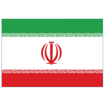 پرچم طرح ایران مدل اهتزار کد M-2115