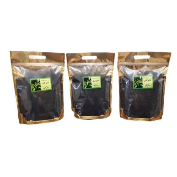 چای سرگل لاهیجان لاکوگیل - 500 گرم بسته 3 عددی
