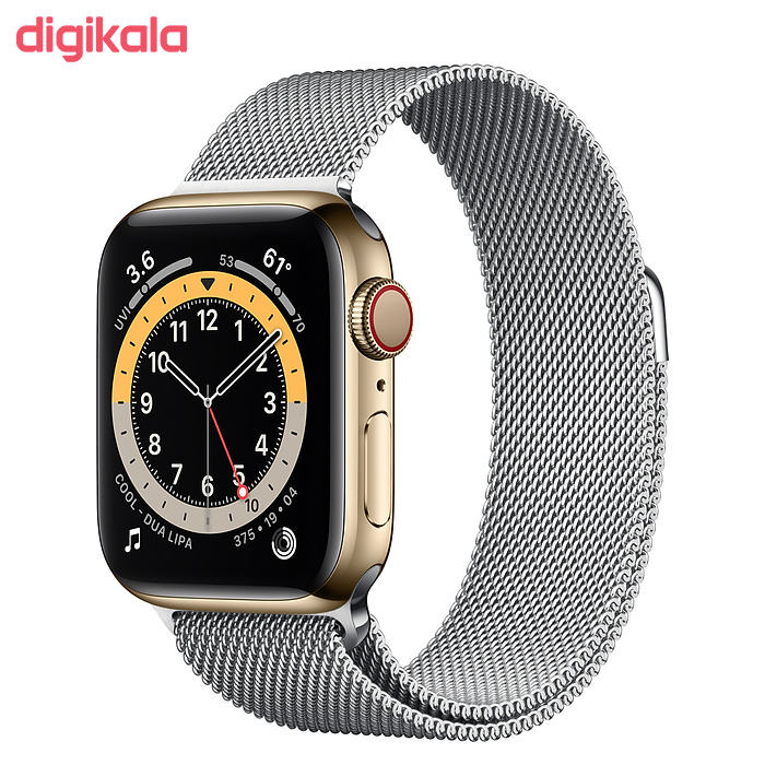 ساعت هوشمند اپل سری 6 مدل Milanese Loop 44mm  main 1 2