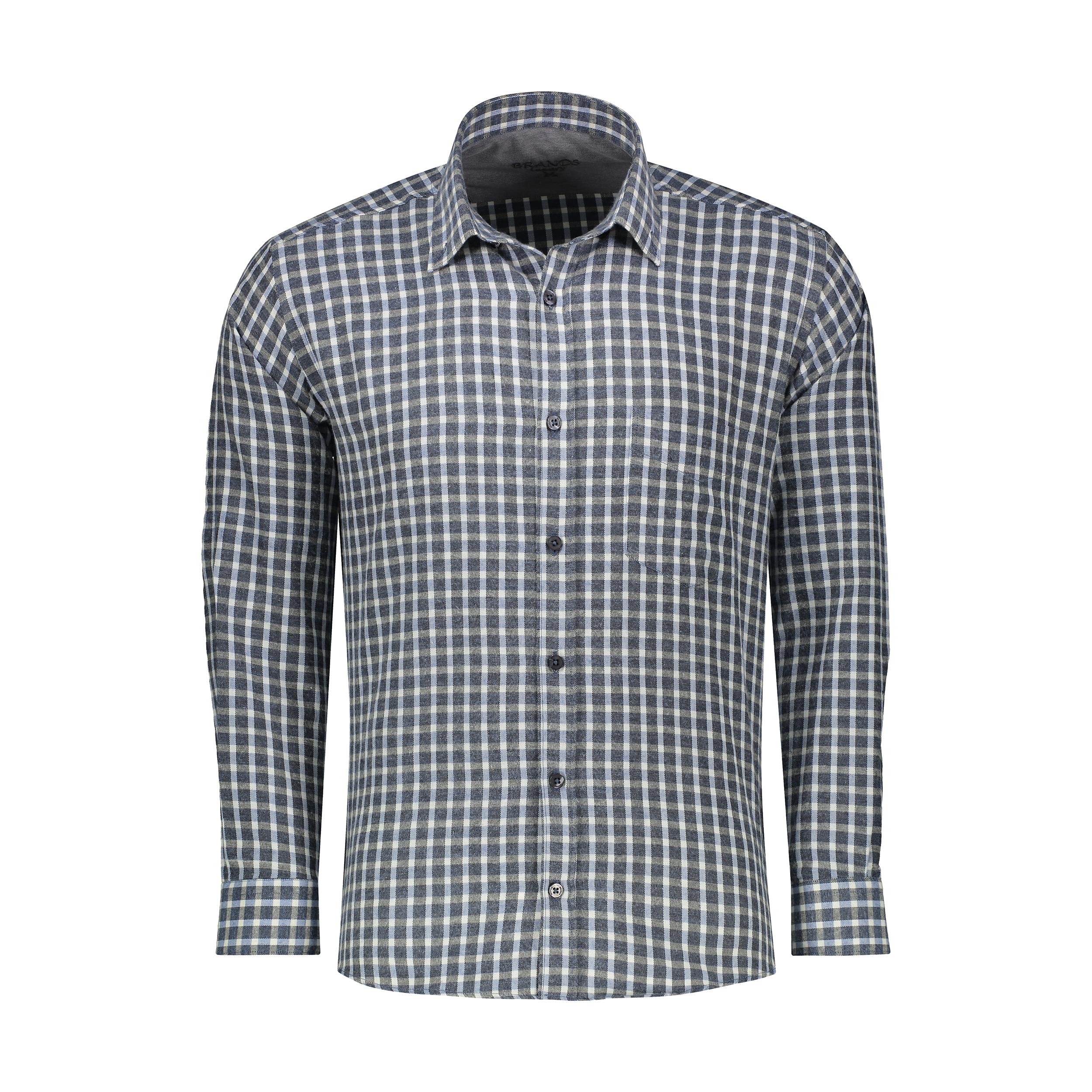 پیراهن آستین بلند مردانه برندس مدل 188403