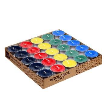 شمع وارمر آرولنس مدل TeaLight-Mix بسته 50 عددی