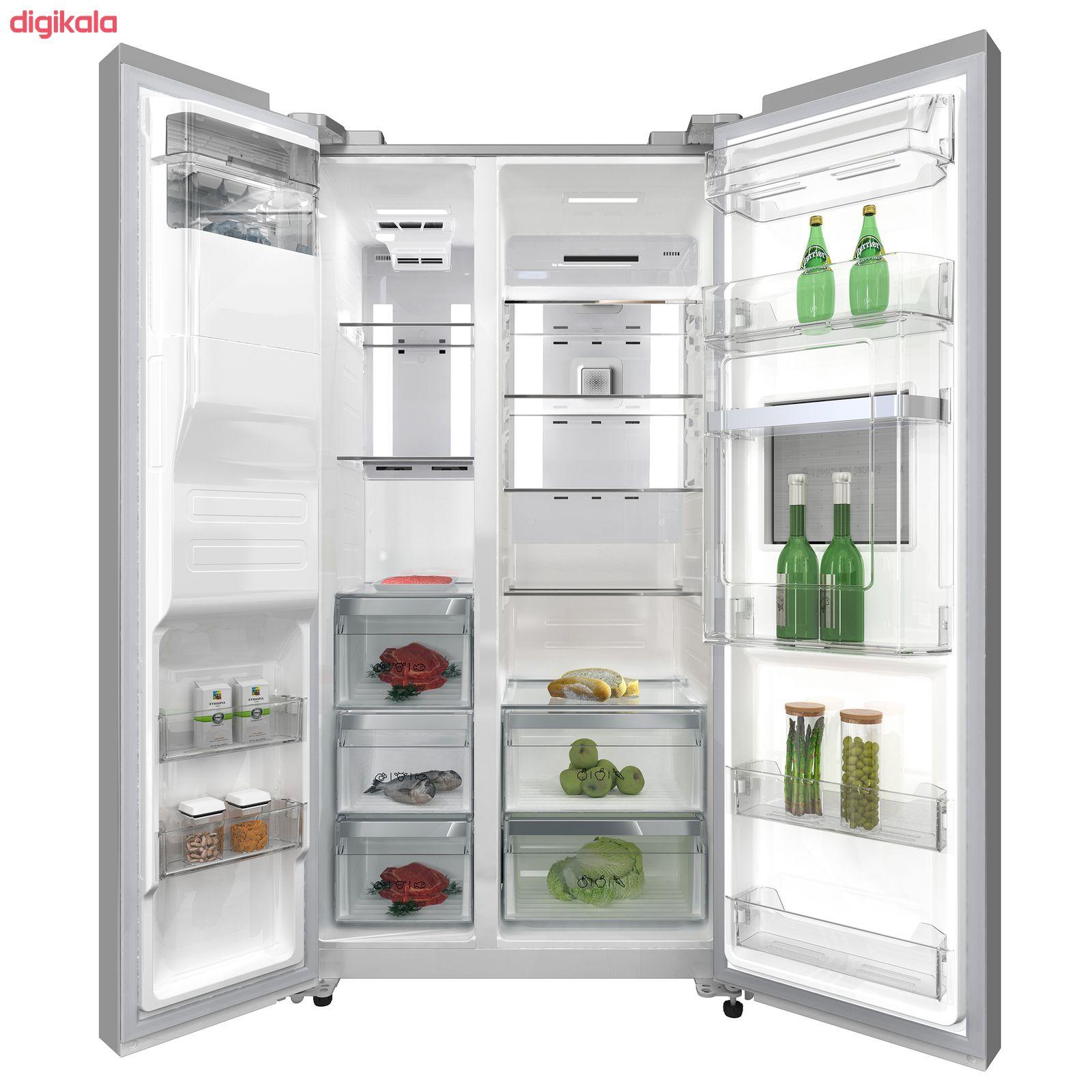 یخچال و فریز ساید بای ساید دوو مدل D4S-2915SS main 1 5