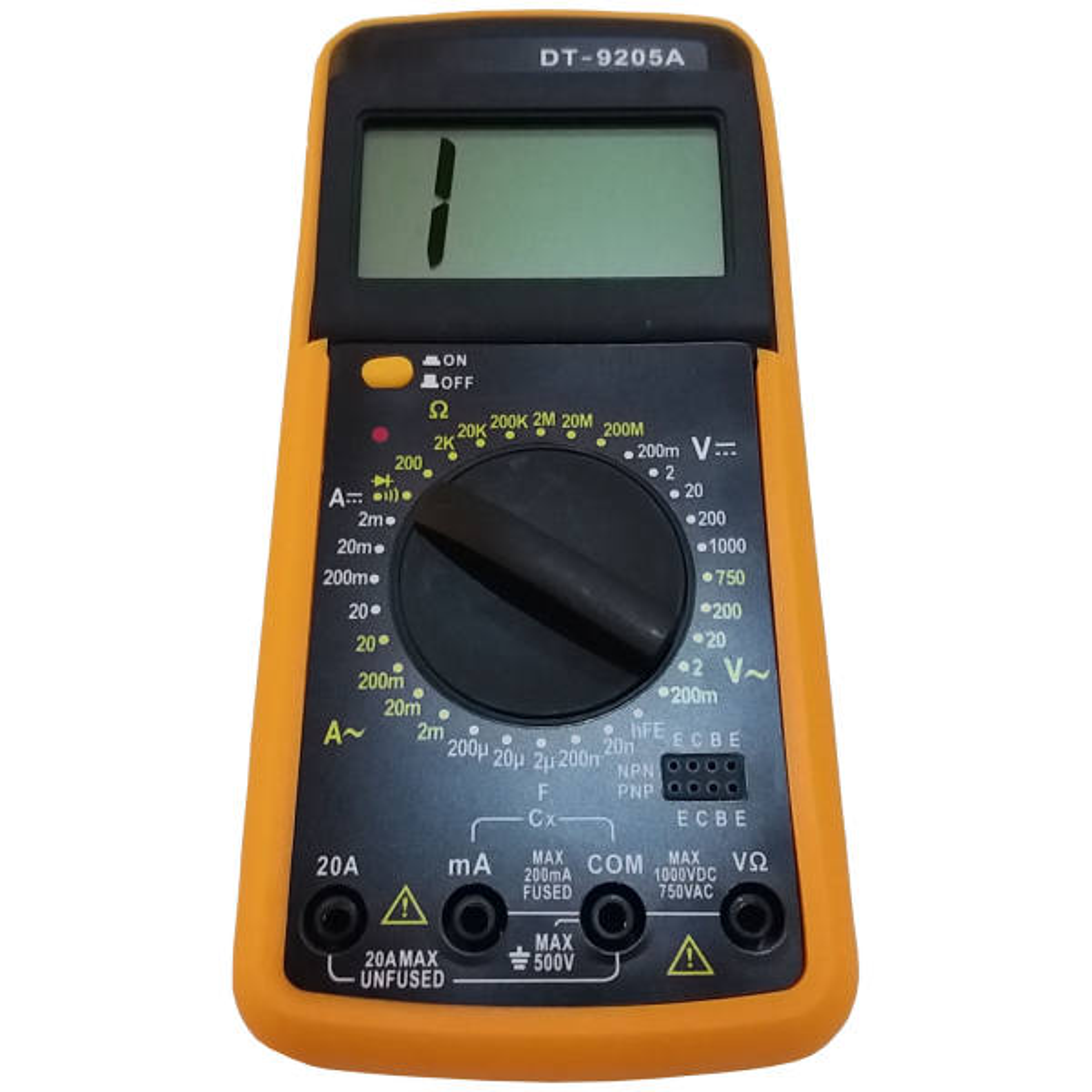 مولتی متر دیجیتال مدل DT9205A