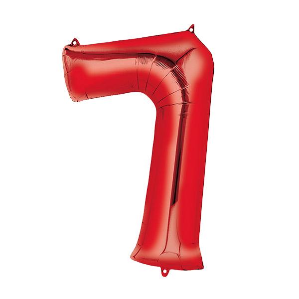 بادکنک فویلی طرح عدد 7