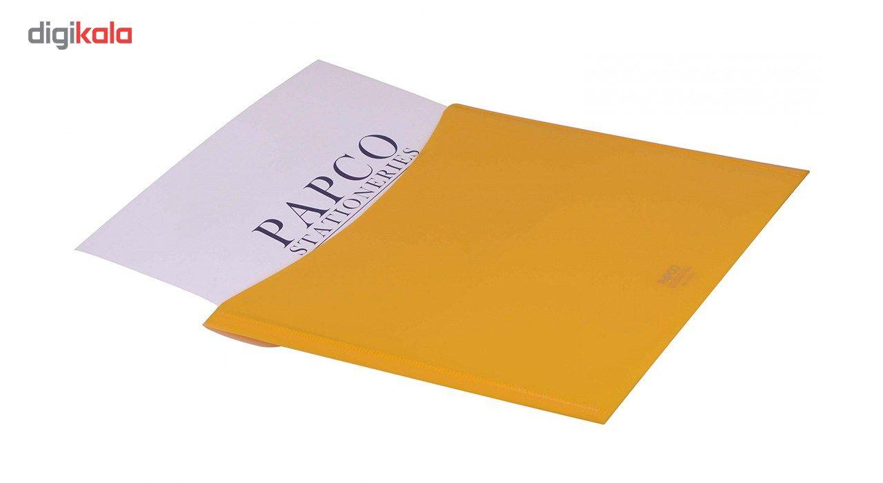پوشه دکمه دار پاپکو کد A4-113BC سایز A4 main 1 10