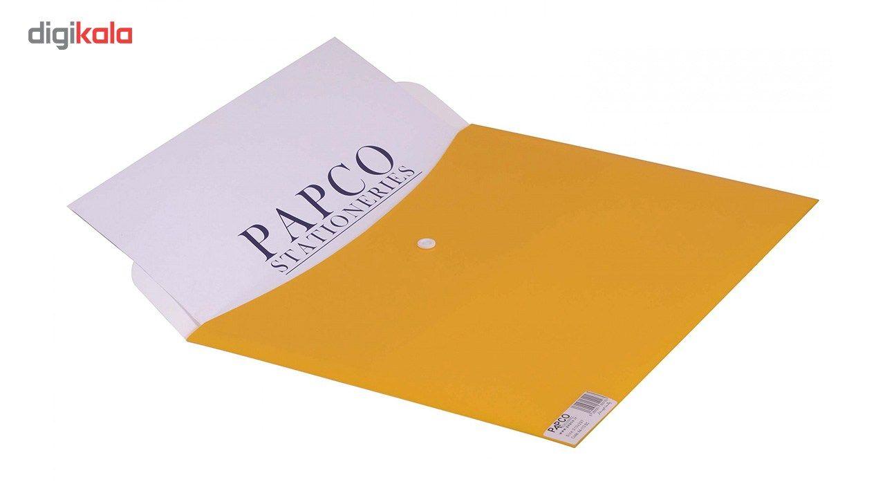 پوشه دکمه دار پاپکو کد A4-113BC سایز A4 main 1 11