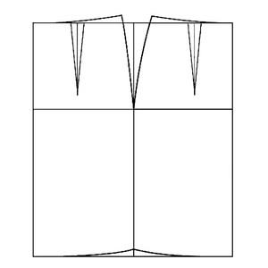 الگو خیاطی دامن متد مولر سایز 44