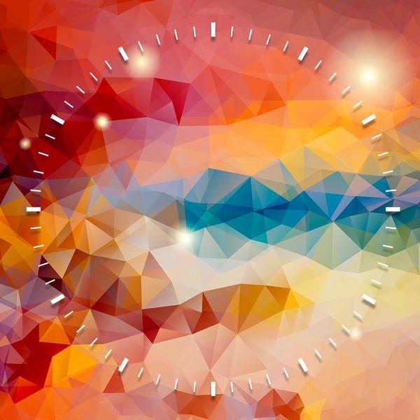 ساعت دیواری ویولت دکور مدل Shine S21