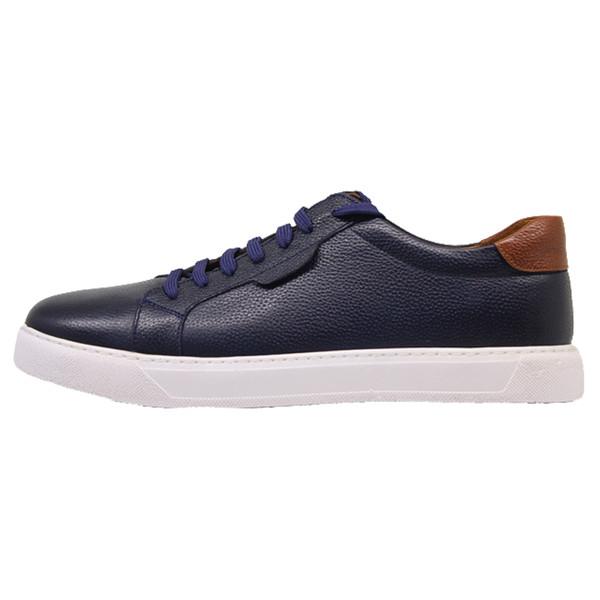کفش روزمره مردانه چرم آرا مدل sh018 کد sor-f