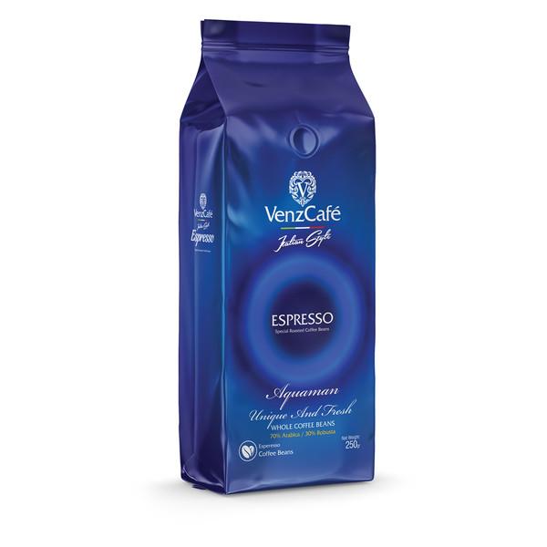 دانه قهوه اسپرسو آکوامن ونزکافه - 250 گرم