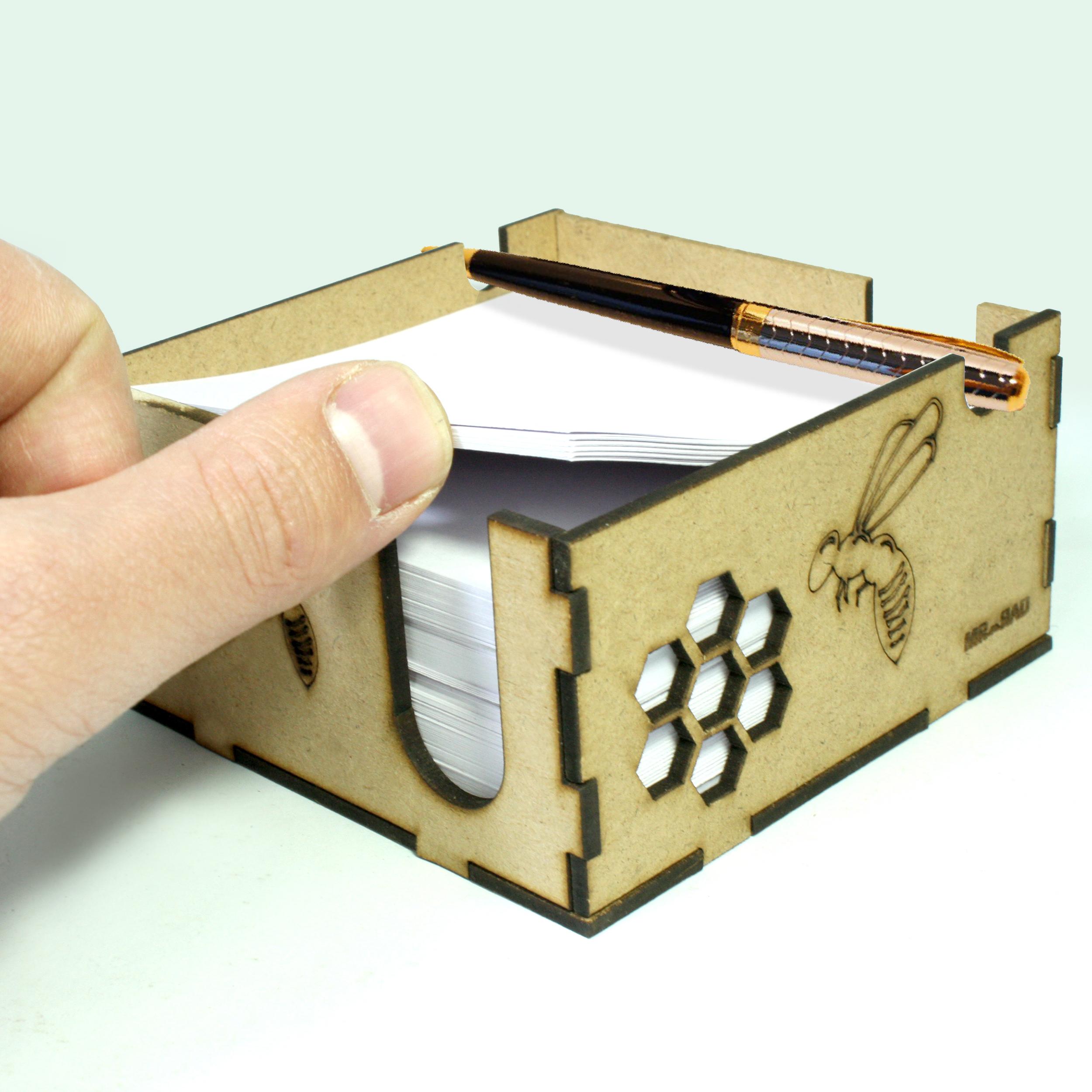 جای کاغذ یادداشت FG مدل زنبوری کد 1414 به همراه کاغذ