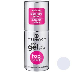 پایه لاک ناخن اسنس مدل تاپ کت ژل نیل  Essence Gel Nails Top Coat