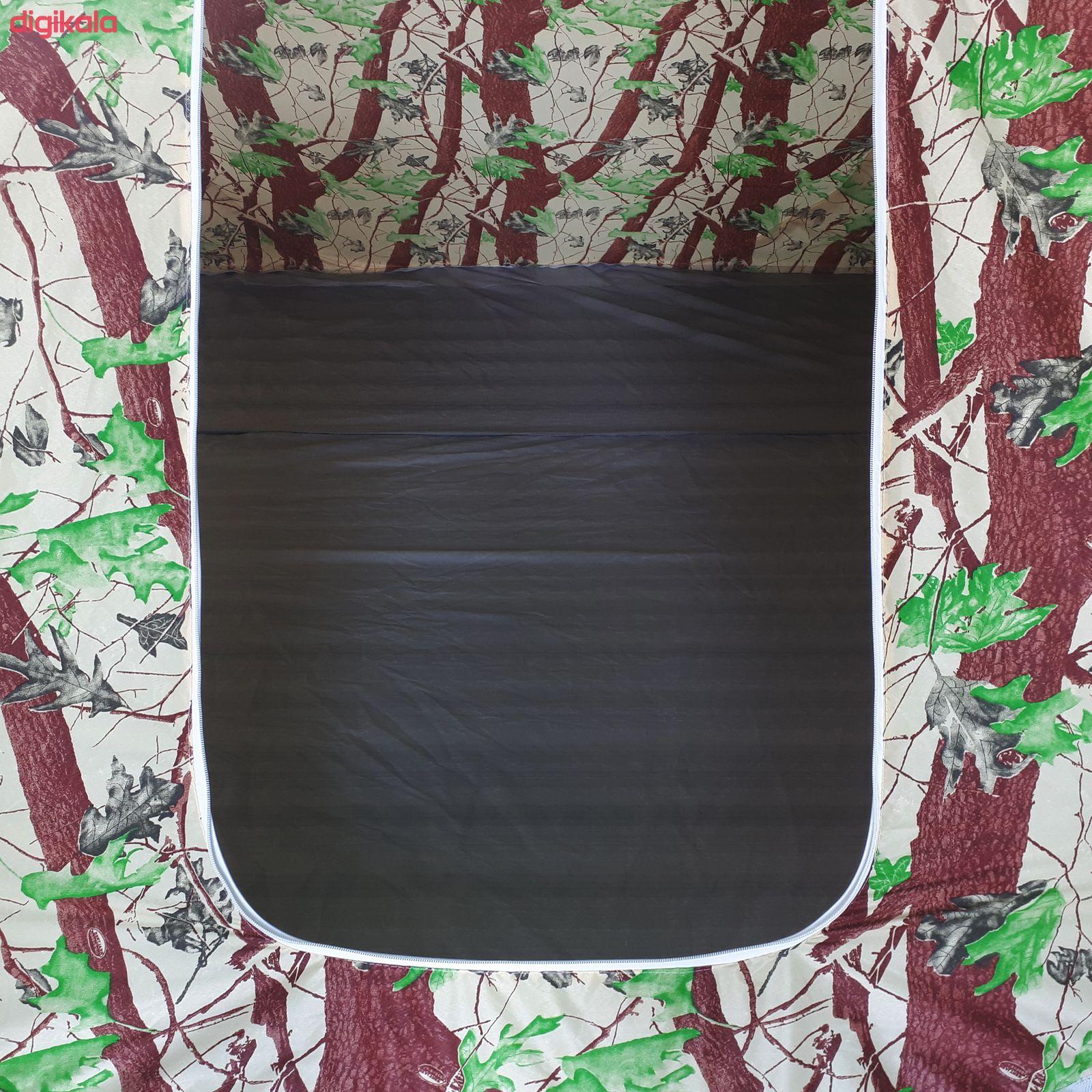 چادر مسافرتی 12 نفره سایانا مدل جنگلی main 1 3