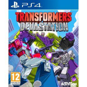 بازی Transformers Devastation مخصوص PS4