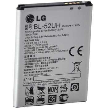 باتری موبایل  مدل BL-52UH با ظرفیت 2040mAh مناسب برای گوشی موبایل ال جی L70