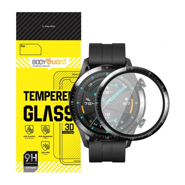 محافظ صفحه نمایش بادیگارد GT2 مناسب برای ساعت هوشمند هوآوی WATCH GT 2 LTN-B19 46 mm