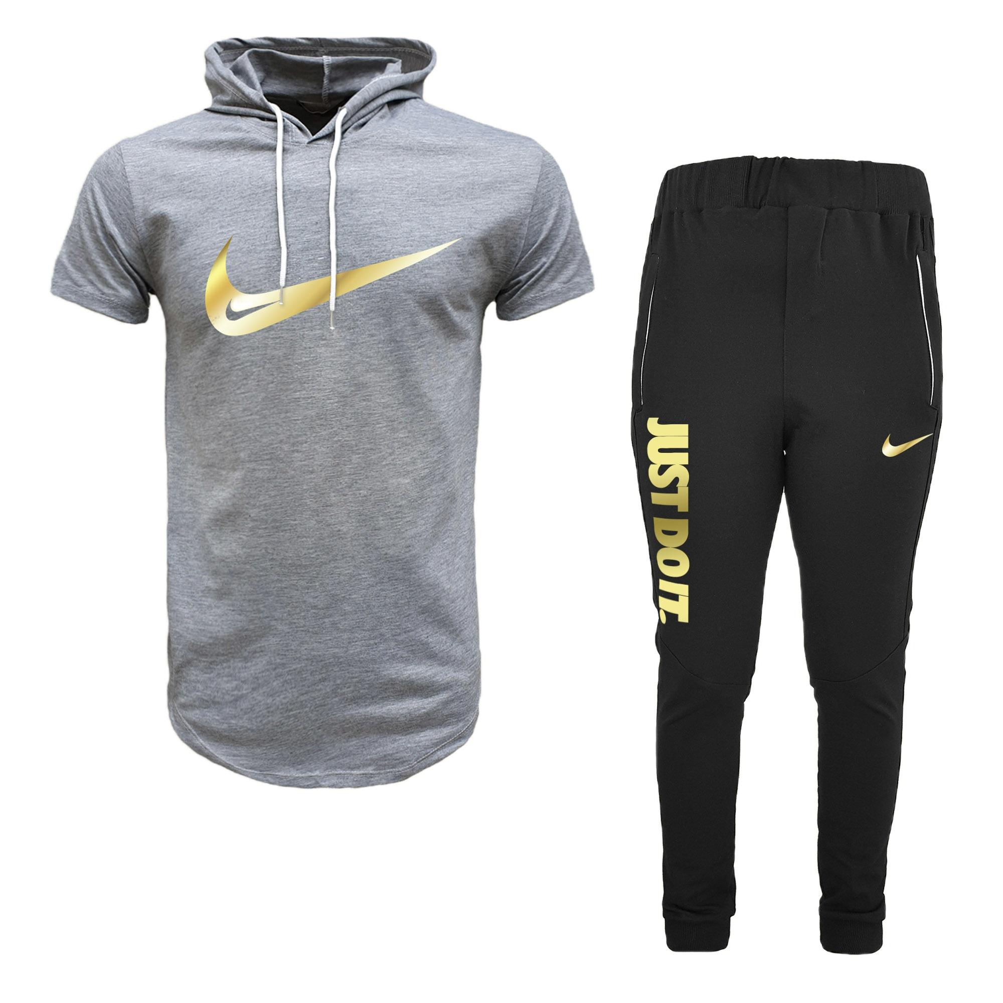 ست تی شرت و شلوار ورزشی مردانه مدل 912023