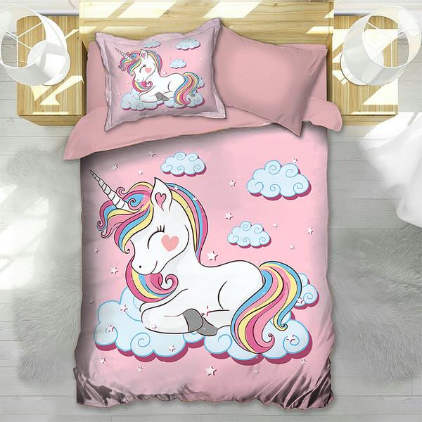 سرویس خواب مدل اسب شاخدار یک نفره 4 تکه