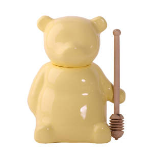ظرف عسل طرح خرس مدل تندیس