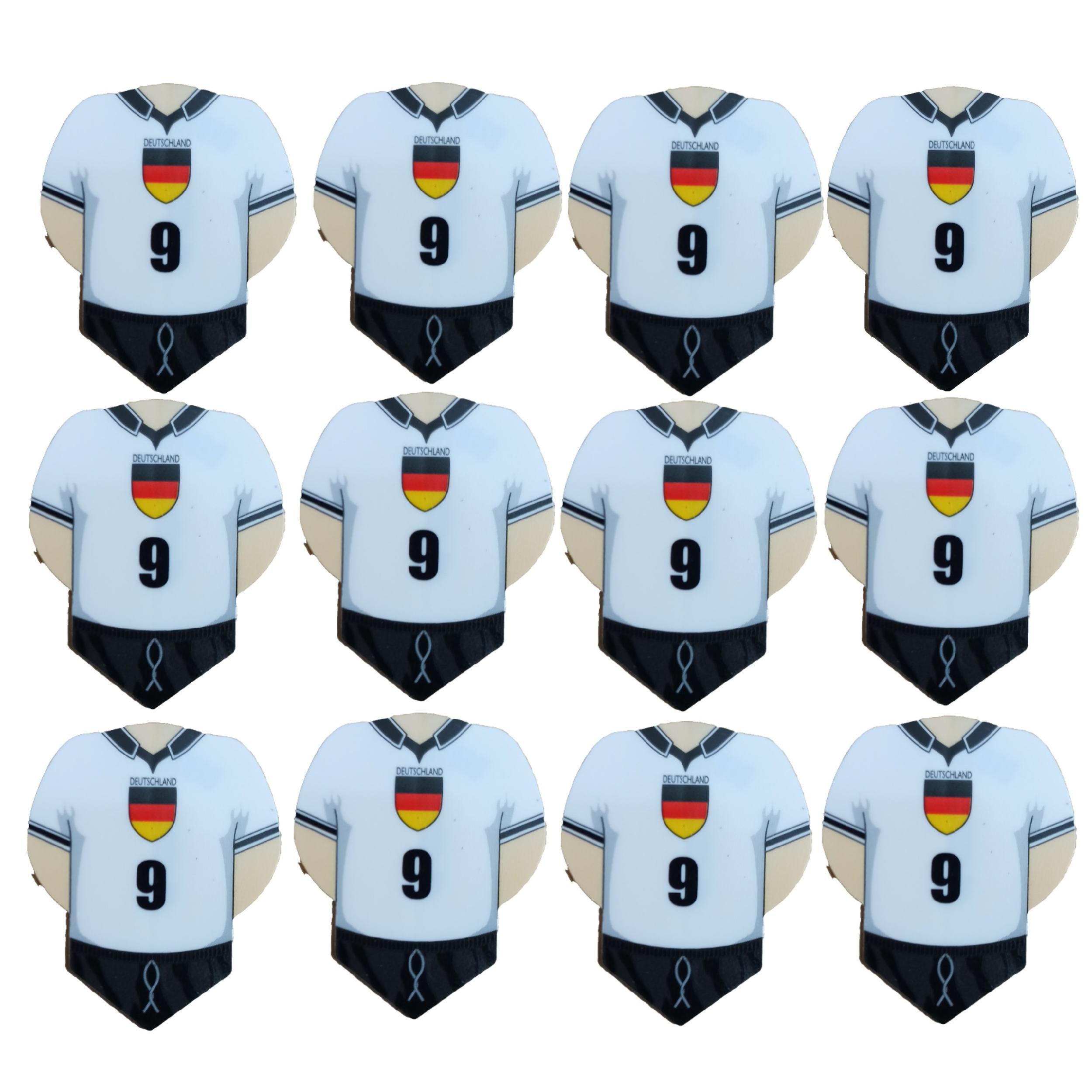 پر یدک دارت طرح لباس تیم آلمان کد 1 بسته 12 عددی