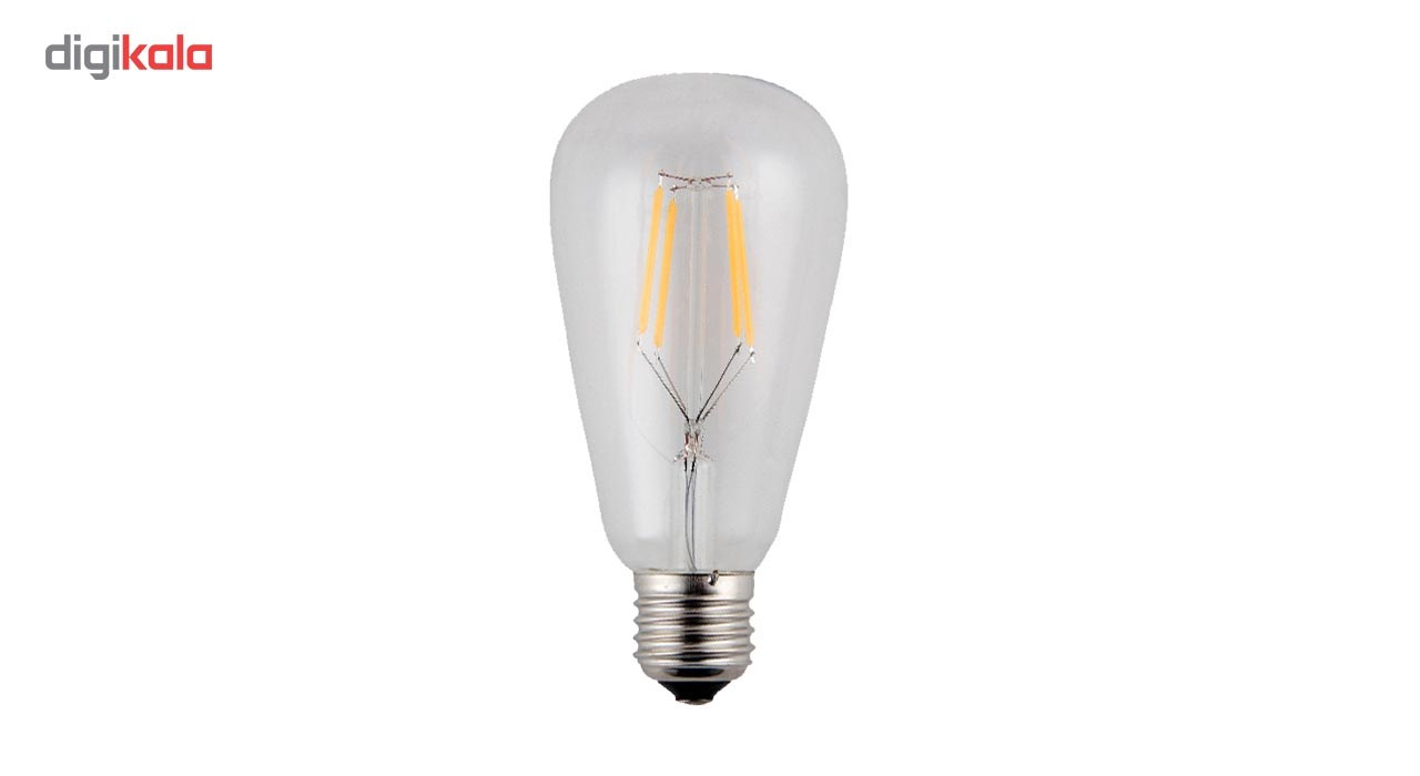 لامپ ال ای دی فیلامنتی 4 وات تکنوتل مدل  604 پایه E27