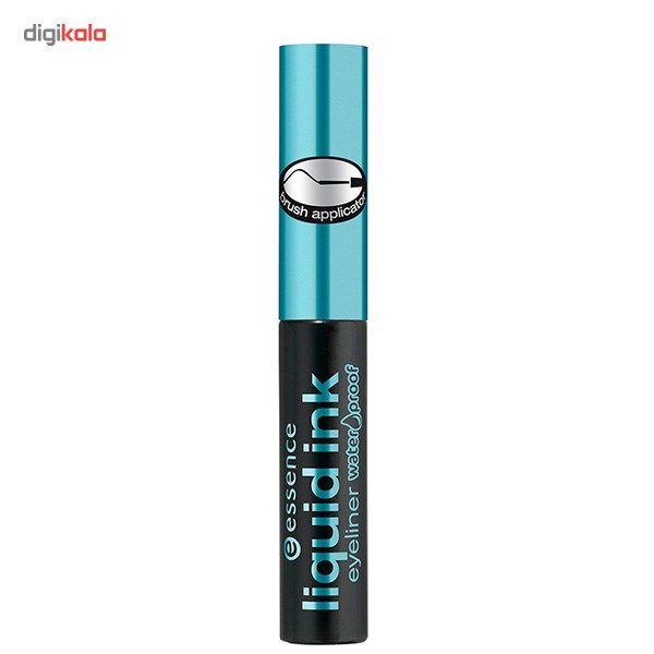 خط چشم مایع ضد آب اسنس مدل Ink  Essence Liquid Ink Eyeliner Waterproof
