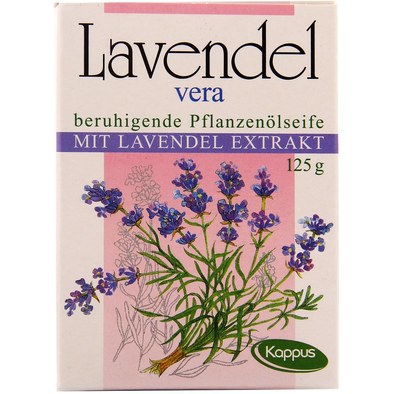صابون کاپوس مدل Lavendel Vera مقدار 125 گرم