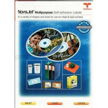 کاغذ یادداشت چسب دار تکنوا مدل NovaJet Multipurpose بسته 100 عددی