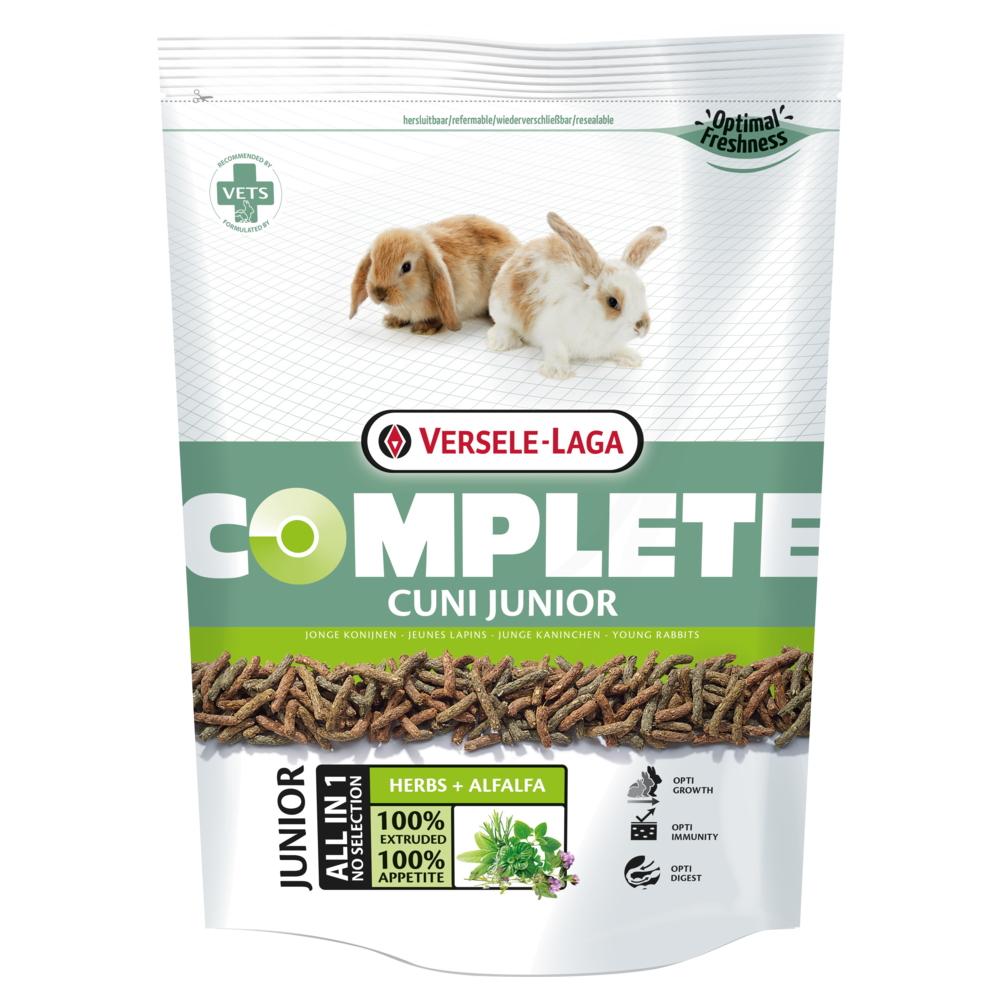 غذای خشک خرگوش ورسلاگا مدل CUNI JUNIOR وزن 500 گرم