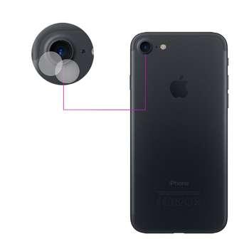 محافظ لنز دوربین مدل LTP مناسب برای گوشی موبایل اپل iPhone 7 بسته دو عددی
