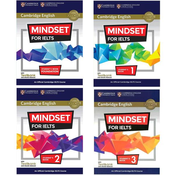 کتاب Cambridge English Mindset For IELTS اثر جمعی از نویسندگان انتشارات Cambridge چهارجلدی