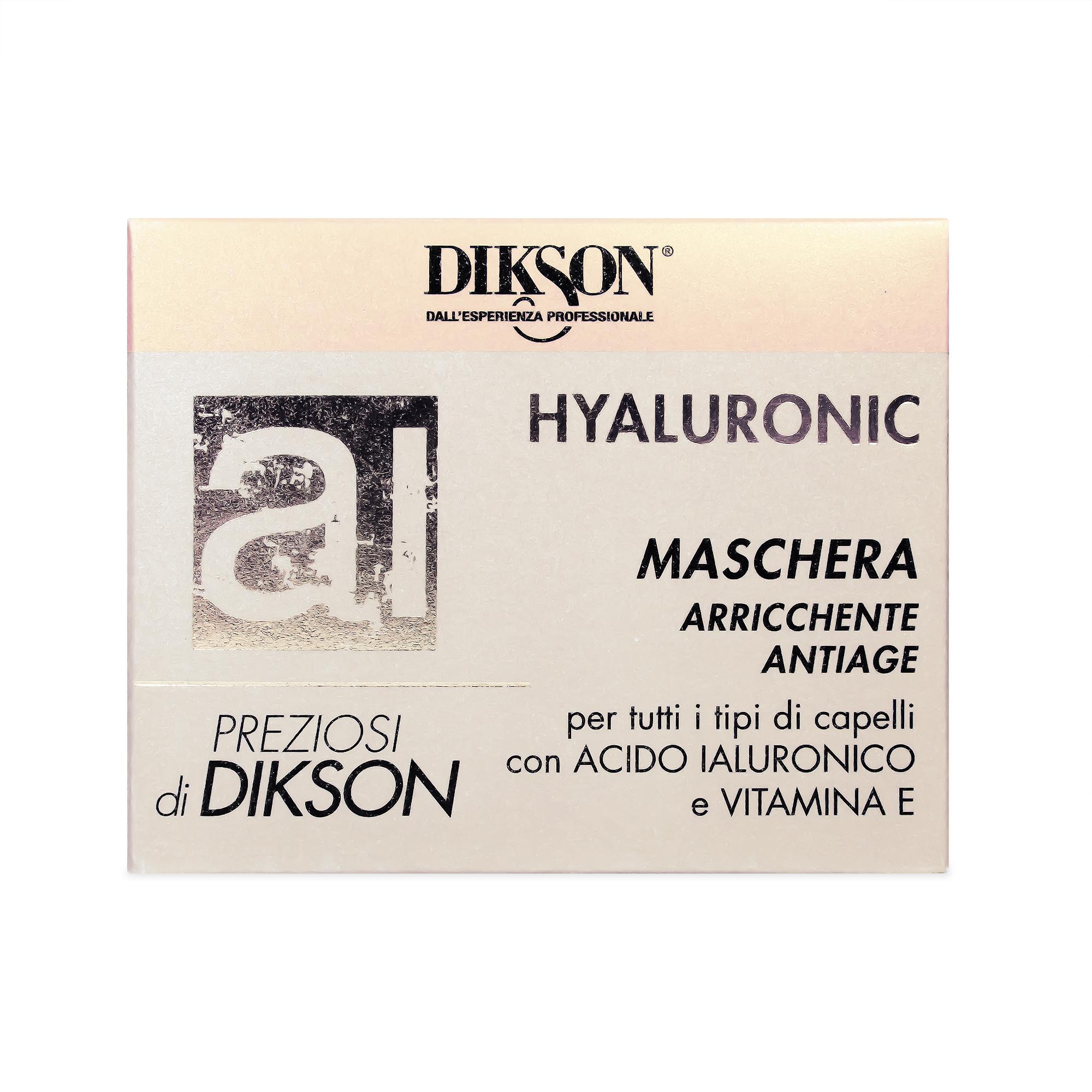 ماسک مو احیا کننده دیکسون مدل هیالورونیک حجم 250 میلی لیتر