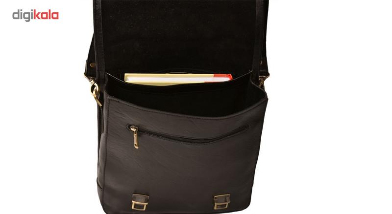 کیف دستی کهن چرم مدل DB74