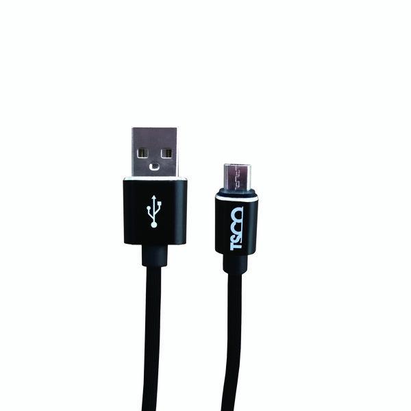 کابل تبدیل USB به microUSB تسکو مدل TC A169 طول 1 متر