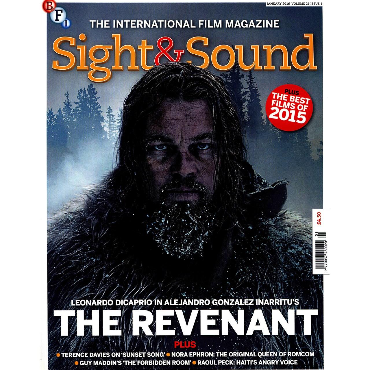 مجله Sight & Sound - ژانویه 2016