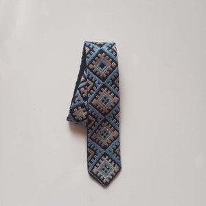 کراوات دست دوز مدل H006CR