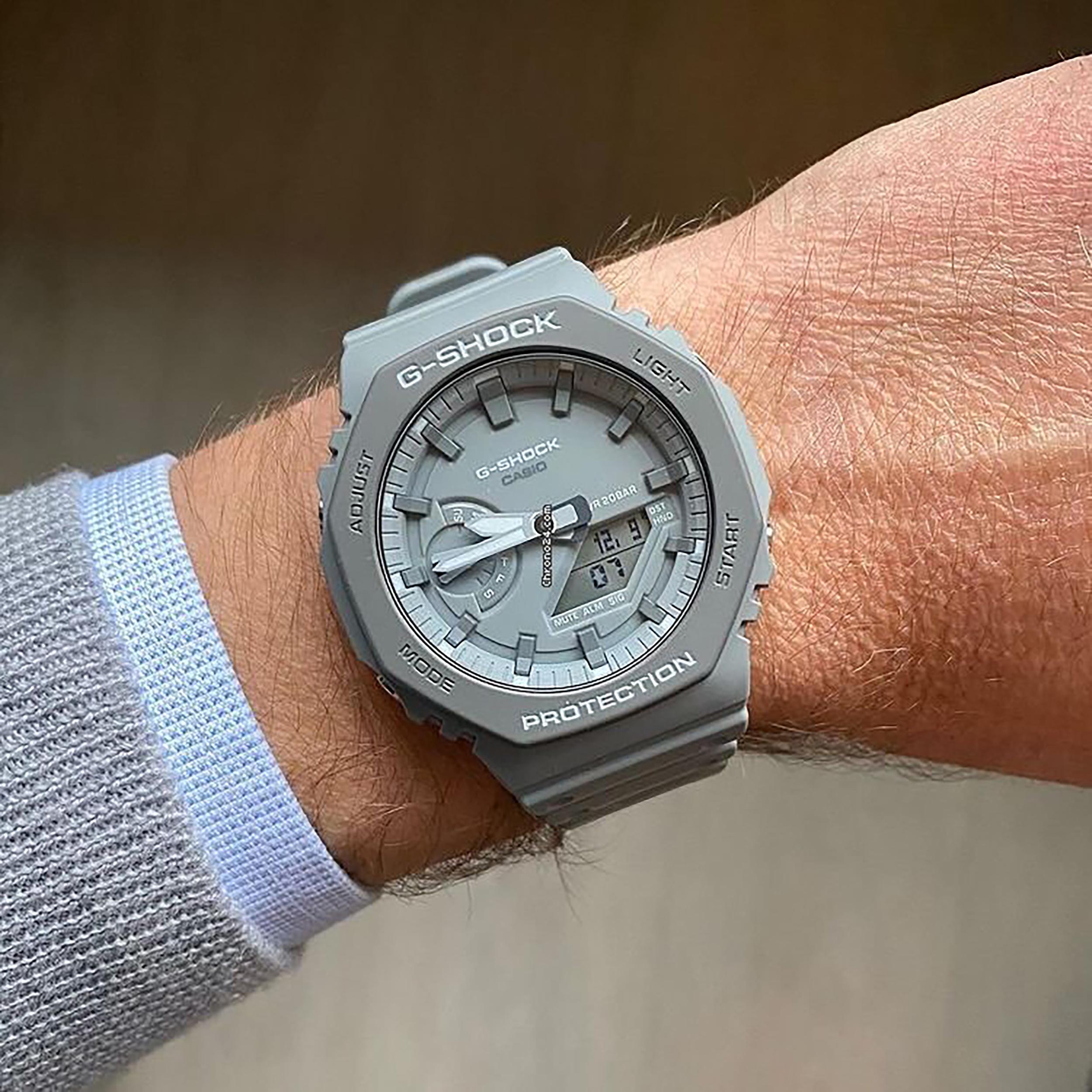 ساعت مچی عقربهای مردانه کاسیو مدل GA-2110ET-8ADR