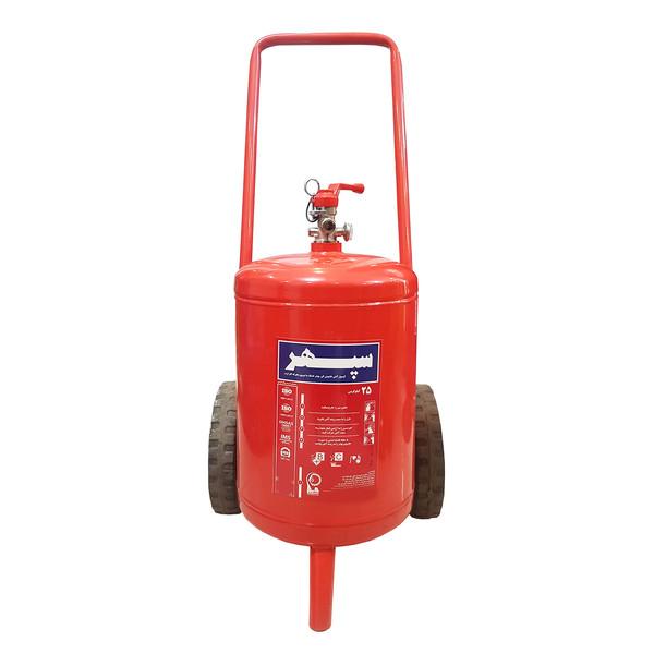 کپسول آتش نشانی سپهر مدل H172 وزن 25 کیلوگرم