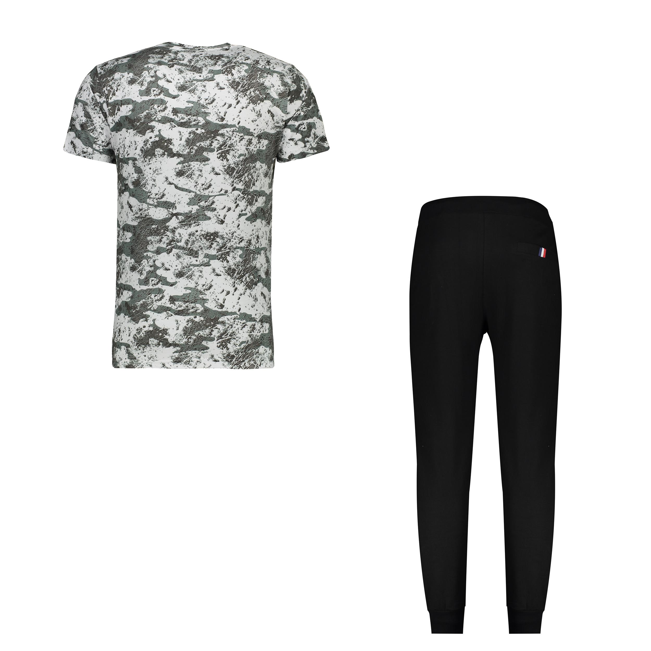 ست تی شرت و شلوار مردانه کد 111213-2