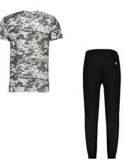 ست تی شرت و شلوار مردانه کد 111213-2 -  - 1