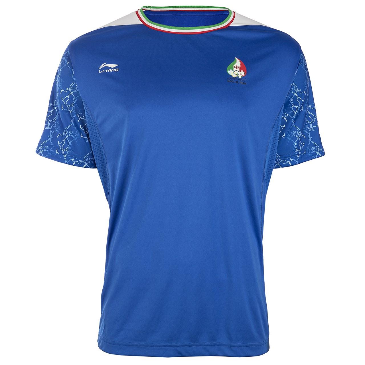 پیراهن ورزشی مردانه تیم ملی المپیک ایران لی نینگ