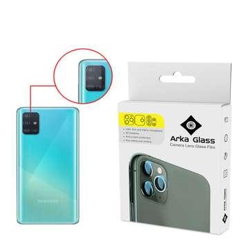 محافظ لنز دوربین آرکا گلس مدل GLA مناسب برای گوشی موبایل سامسونگ Galaxy A71