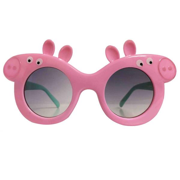 عینک آفتابی بچگانه طرح خوک کد KD61003