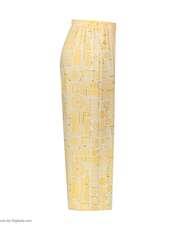 ست تاپ و شلوارک زنانه کد 0217 رنگ زرد -  - 4