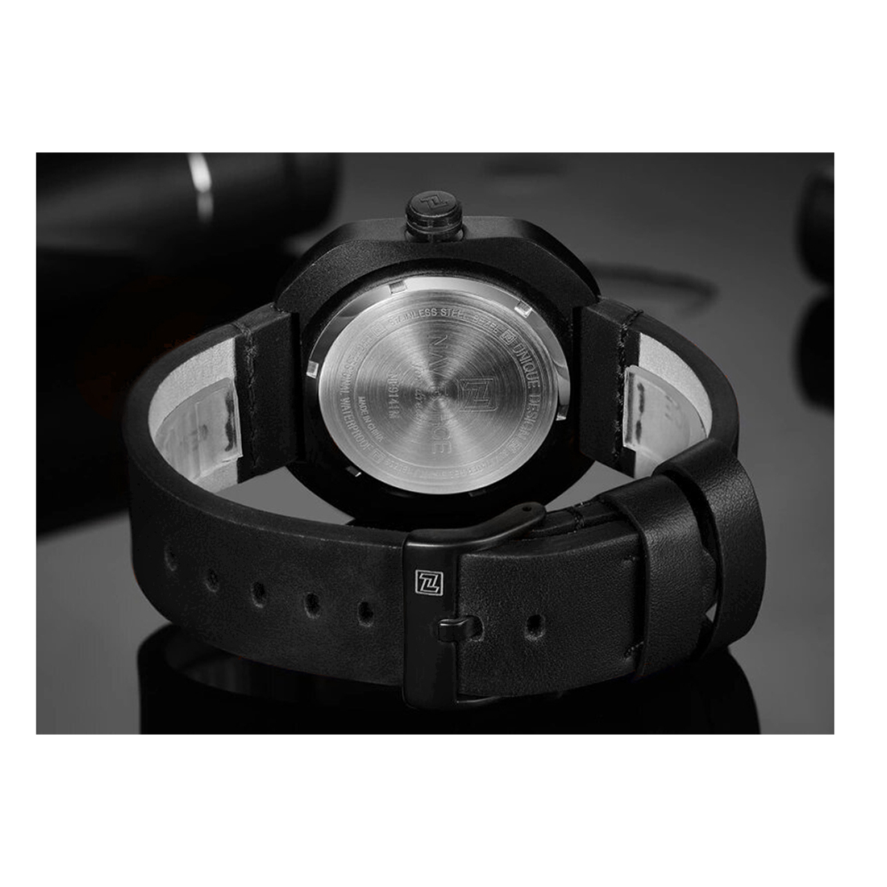 ساعت مچی عقربهای مردانه نیوی فورس مدل  NF9141BWB